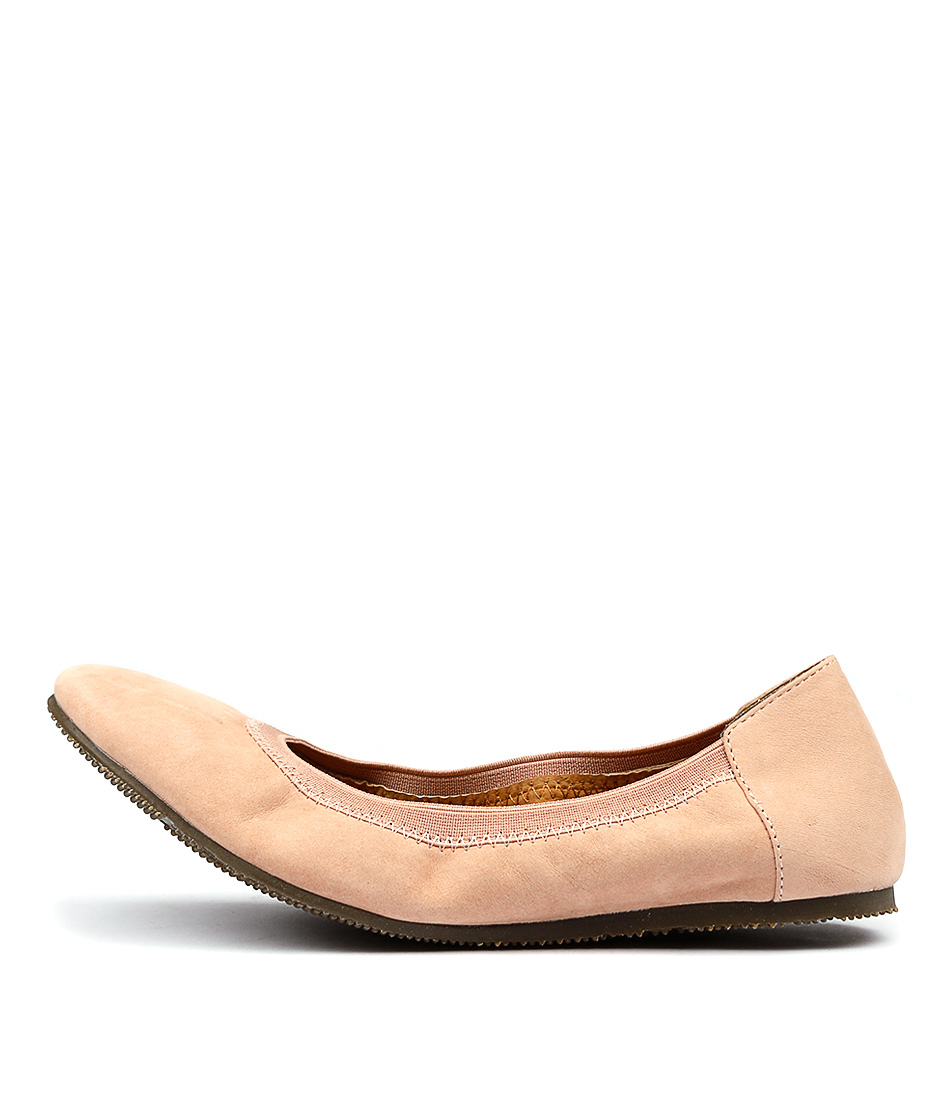 Walnut Ava Ballet Blush Flat Shoes