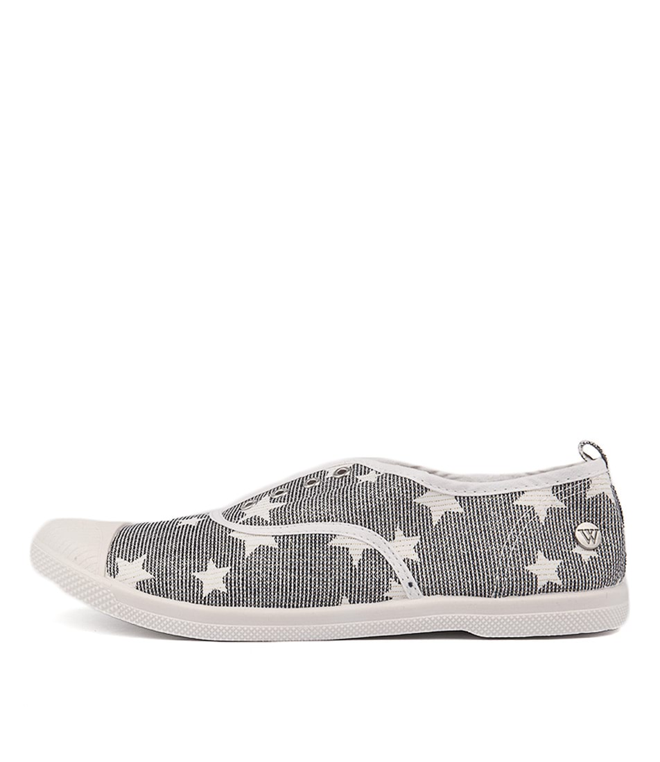 Walnut Euro Plimsole Star Flat Shoes