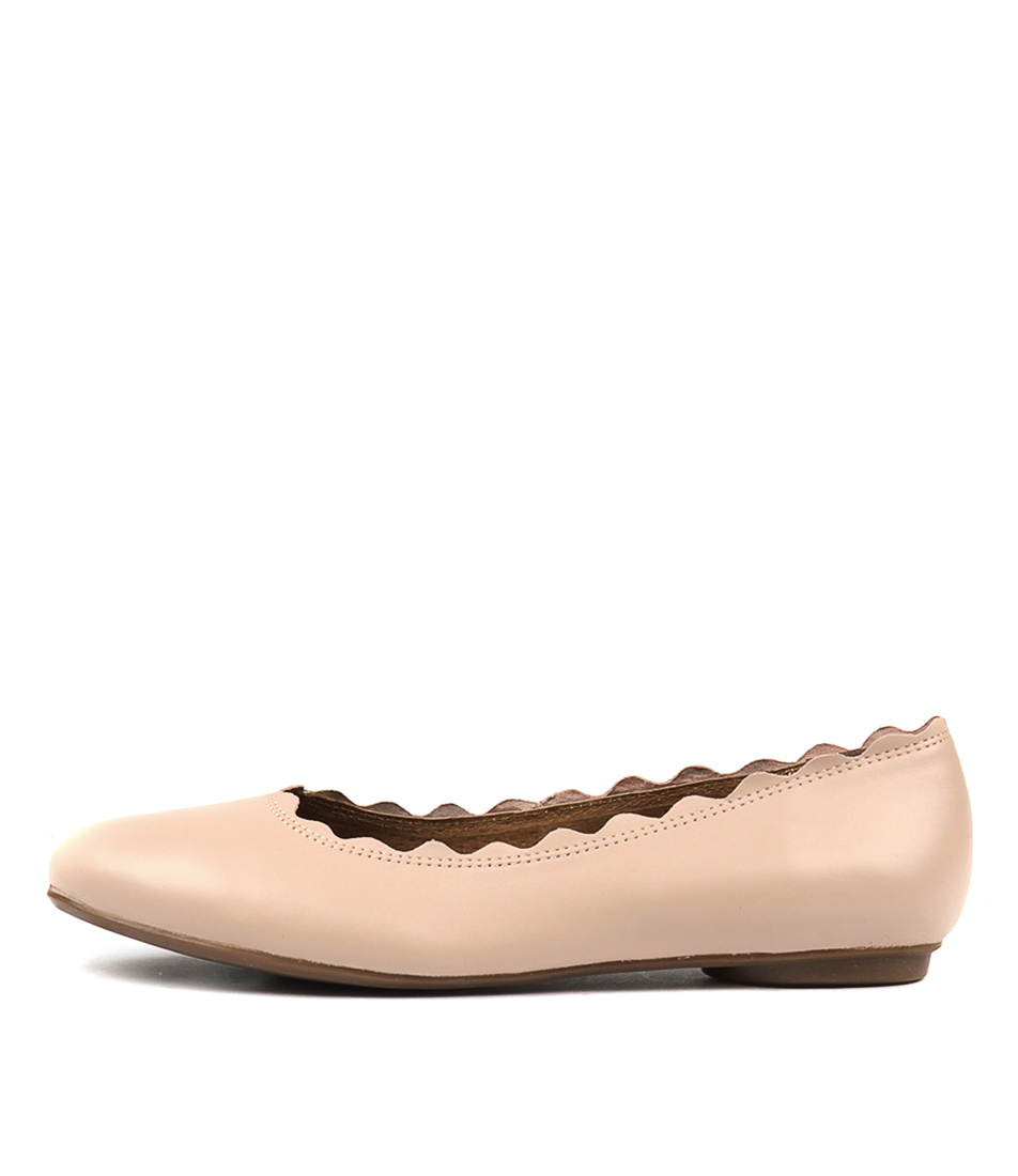 Walnut Rosa Ballet Blush Flat Shoes