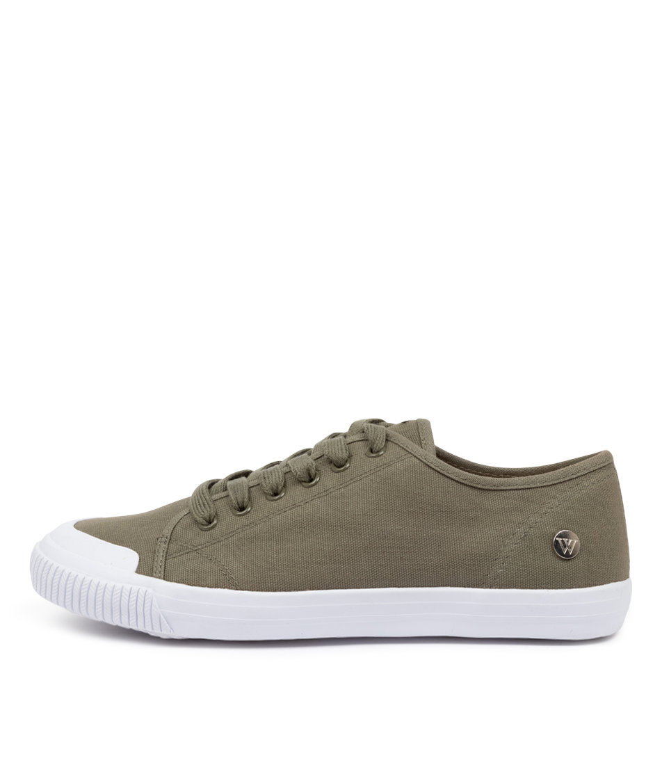 Buy Walnut Empire Canvas Khaki Sneakers online with free shipping