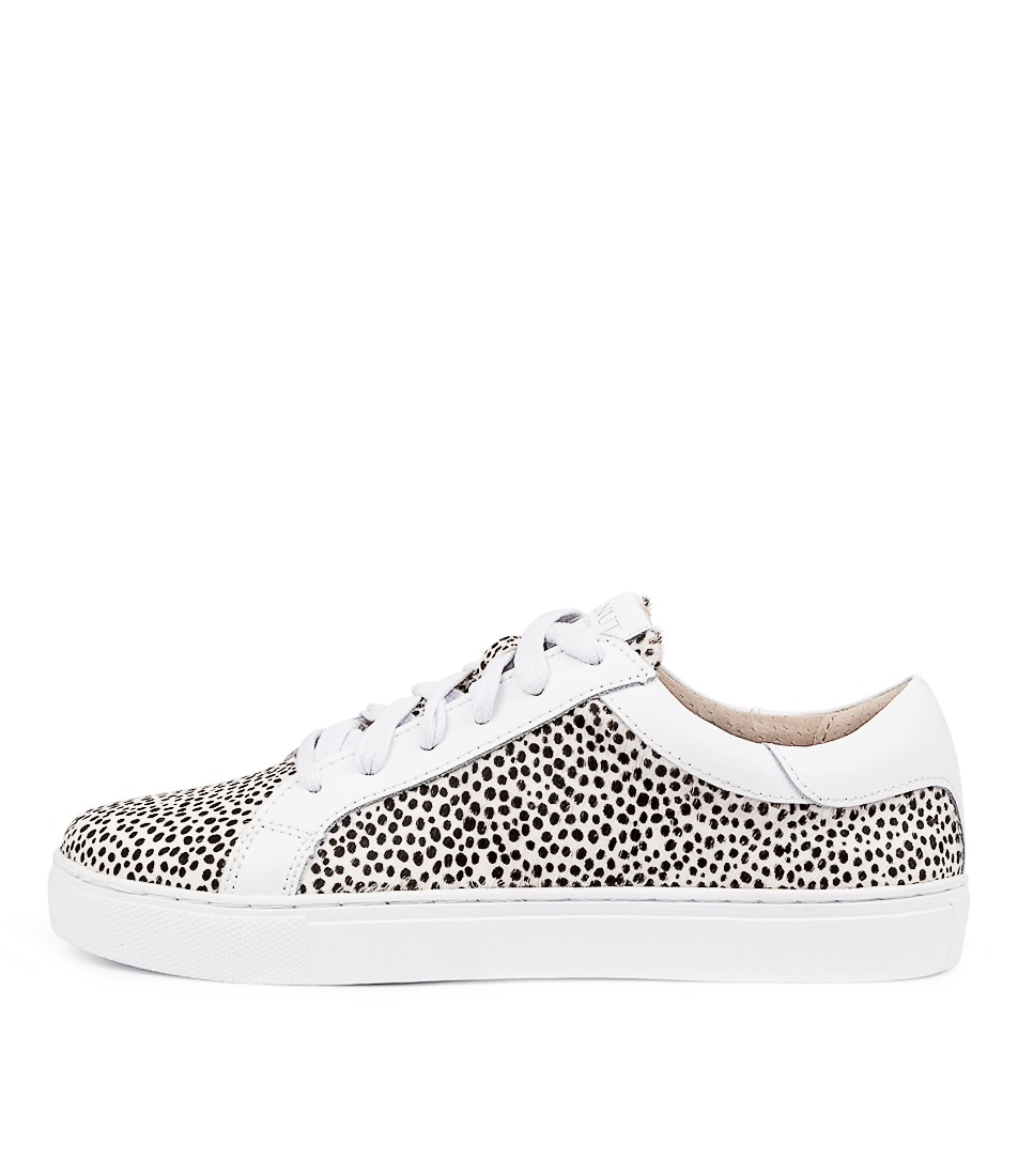 Buy Walnut Amy Leopard Mini W & B Spot Sneakers online with free shipping