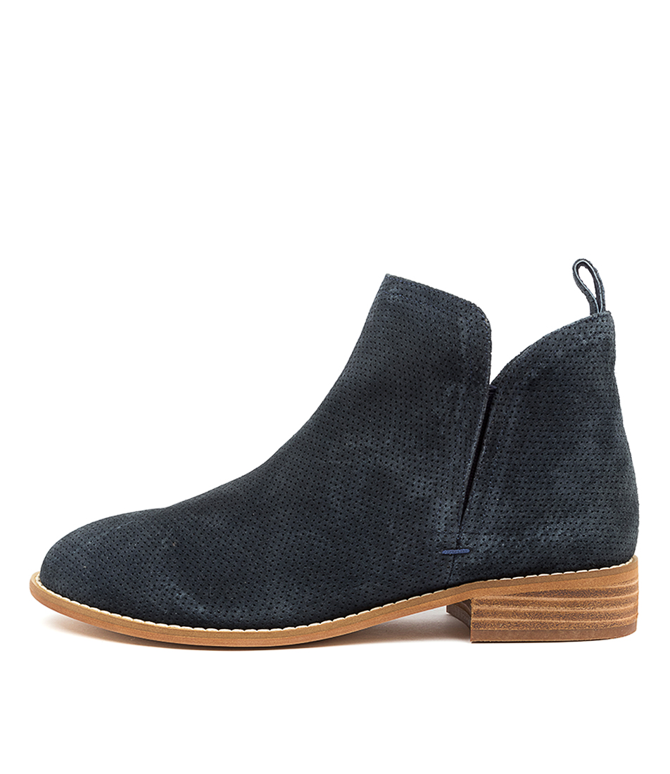 Buy Walnut Douglas Navy Ankle Boots online with free shipping