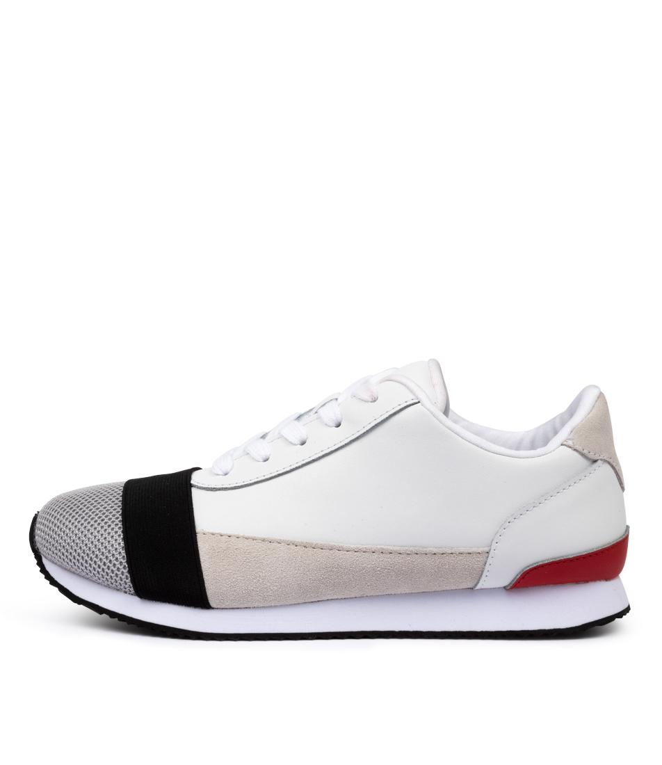 Buy Walnut Sportsluxe Wa White Multi Sneakers online with free shipping