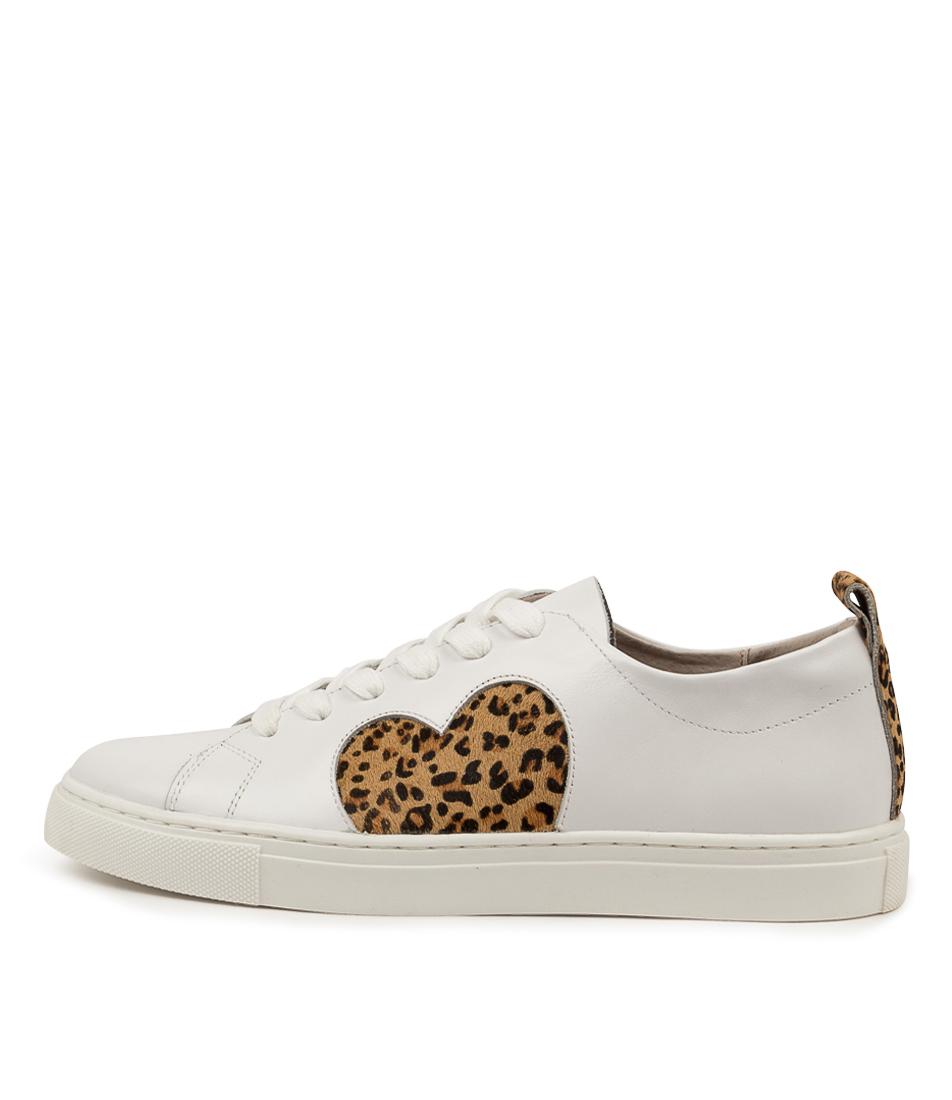 Buy Walnut Heart Sneaker Wa Leopard Sneakers online with free shipping