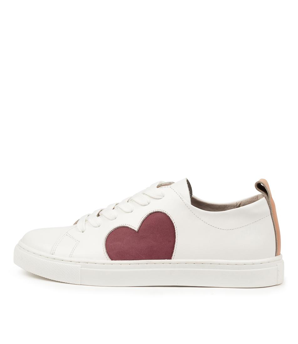 Buy Walnut Heart Sneaker Wa Plum Sneakers online with free shipping