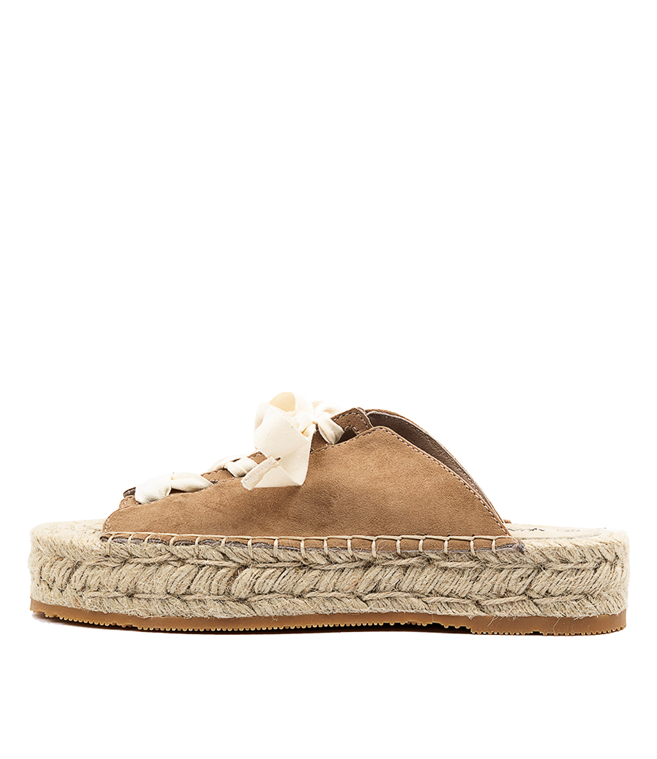 Buy Walnut Mimi Esapdrille Wa Tan Sandals online with free shipping