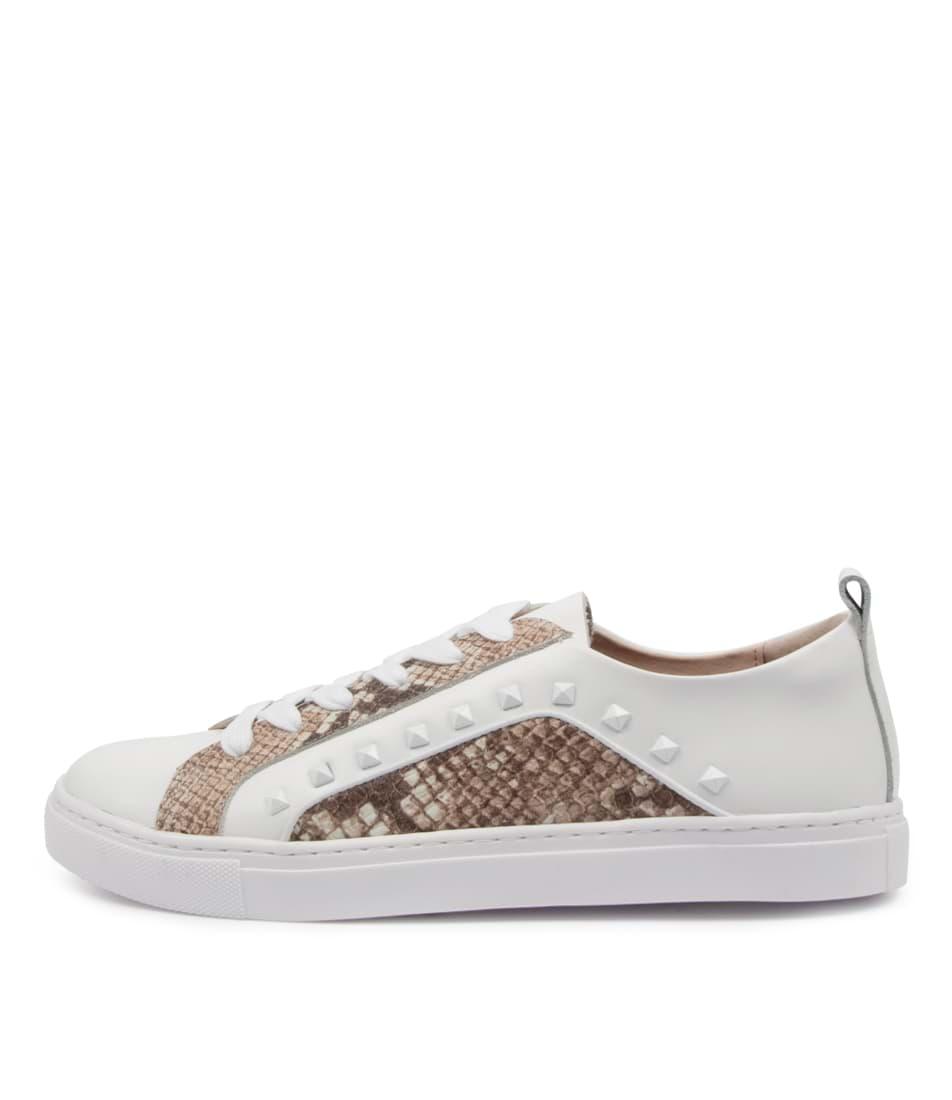 Buy Walnut Hatch Sneaker Wa White Sneakers online with free shipping