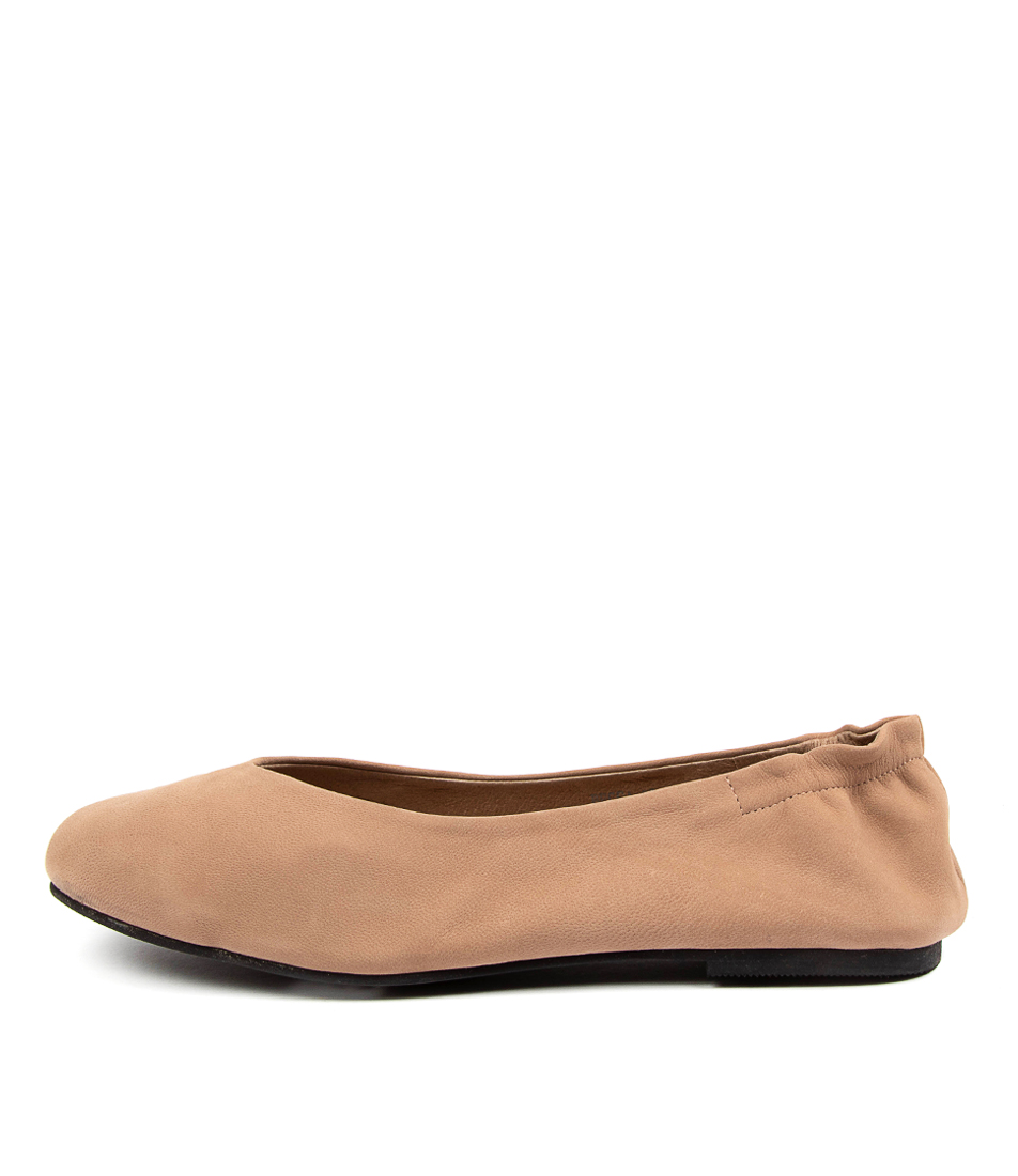 Buy Walnut Becca Wa Taupe Flats online with free shipping