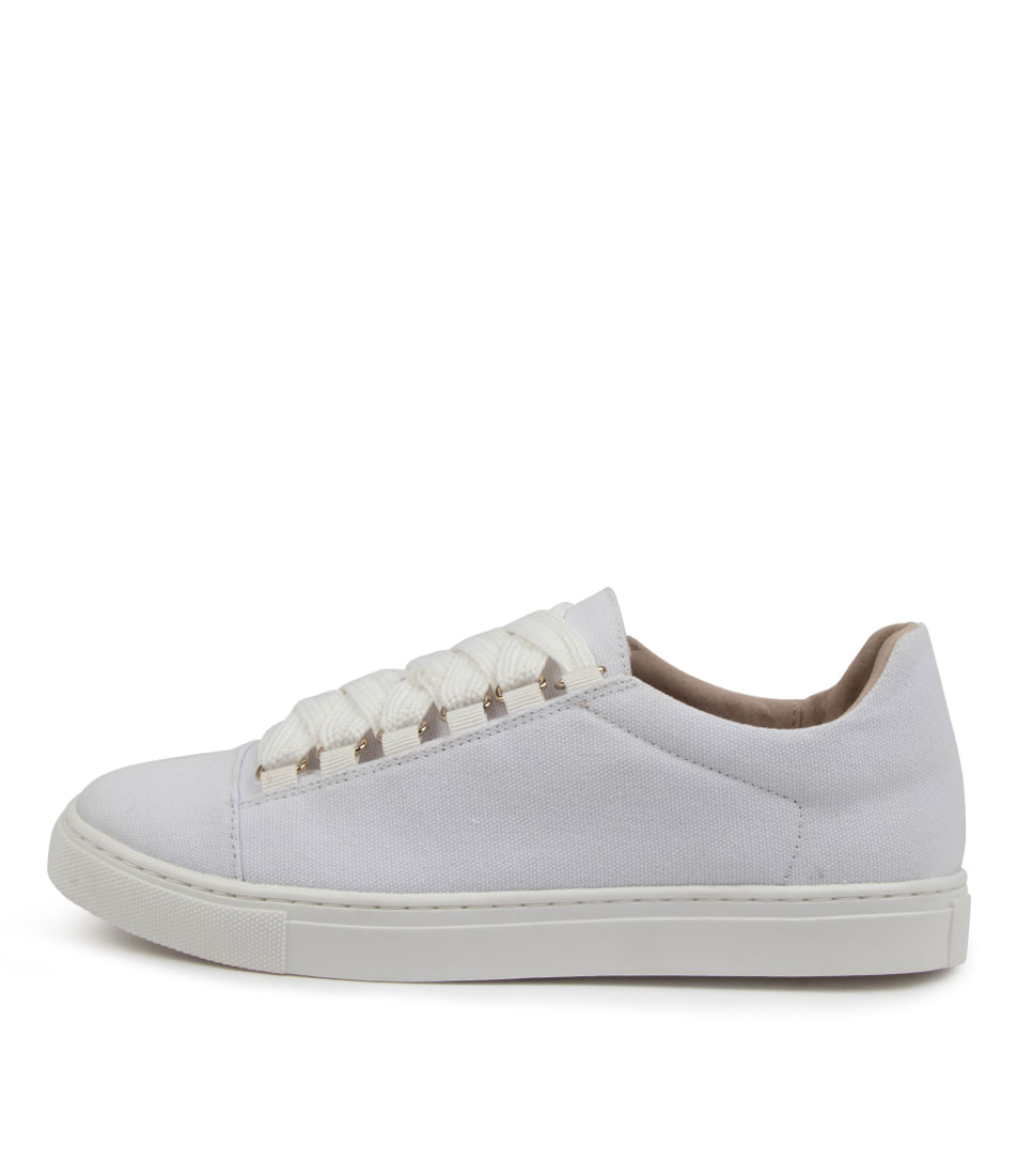 Buy Walnut Harris Wa White Sneakers online with free shipping