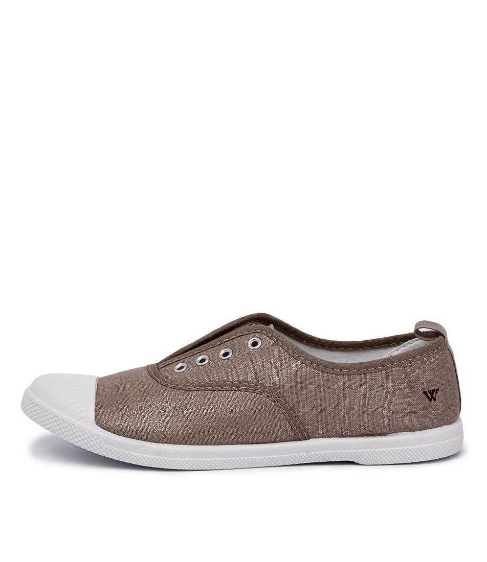 Walnut Euro Plimsole Soft Gold Shoes