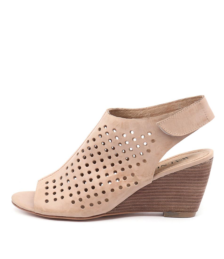 Walnut Geri Wedge Blush Shoes