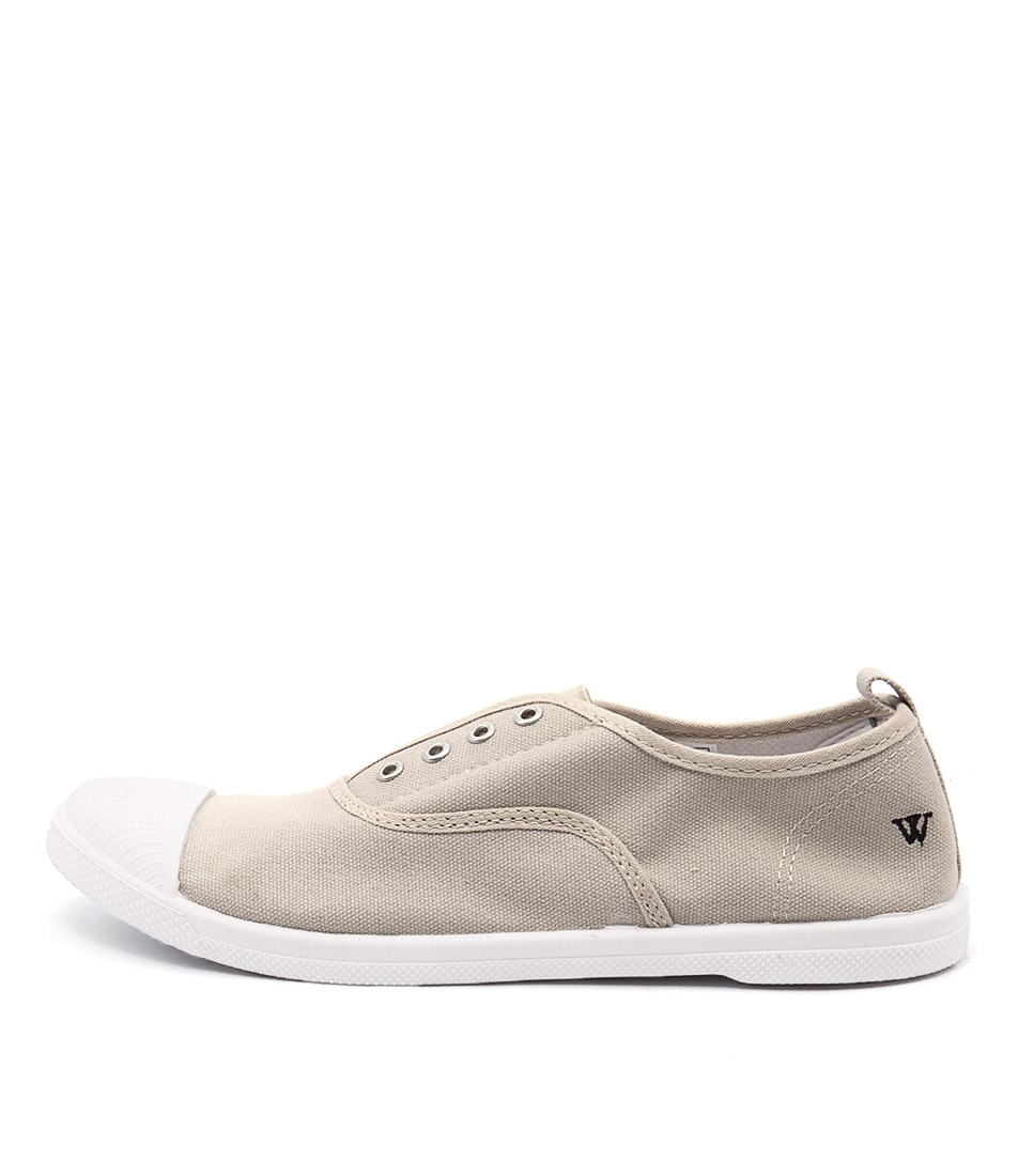 Buy Walnut Euro Plimsole Sand Sneakers online with free shipping