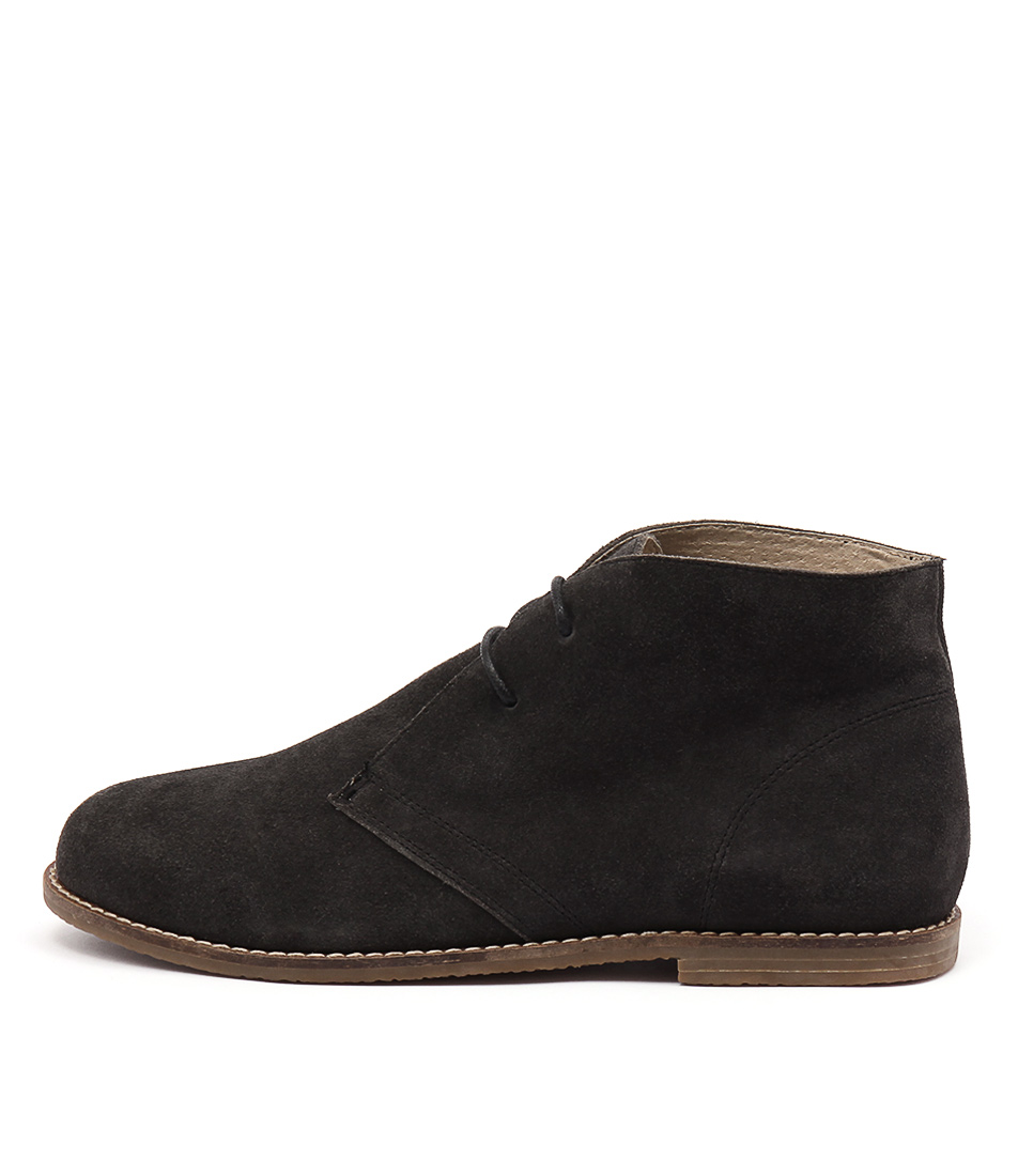 Walnut Kayden Boot Midnight Casual Ankle Boots