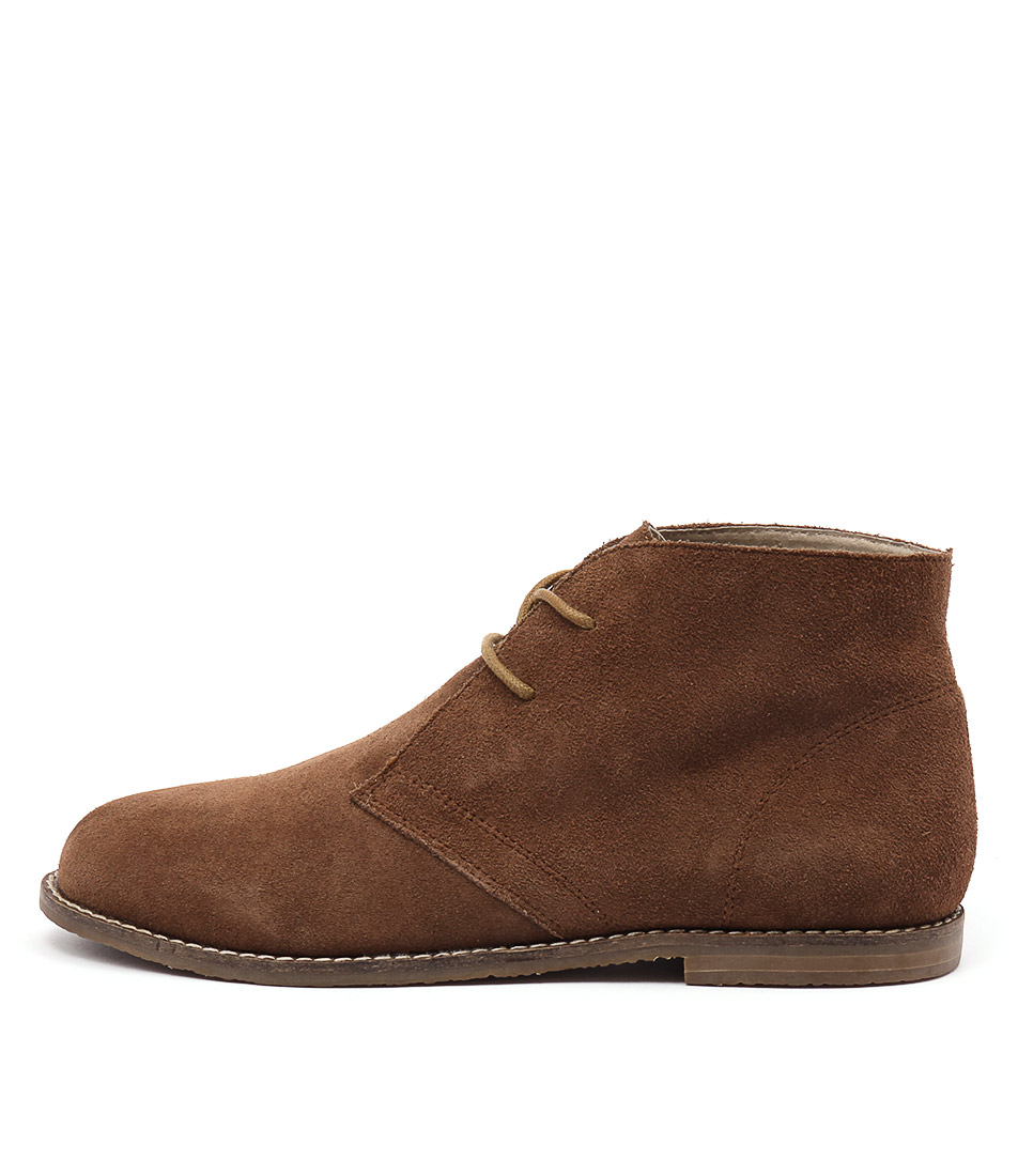 Walnut Kayden Boot Tan Ankle Boots