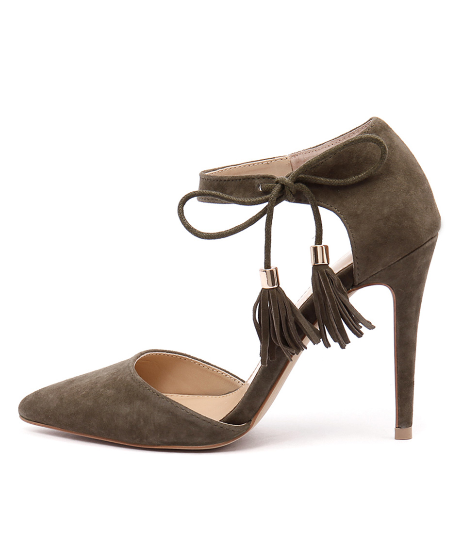 Wanted Bellagio Khaki High Heels