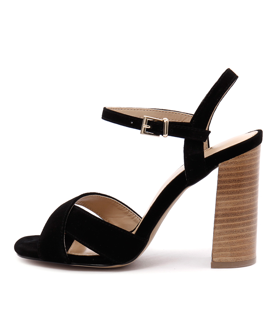 Wanted Kurt Wn Black Heeled Sandals