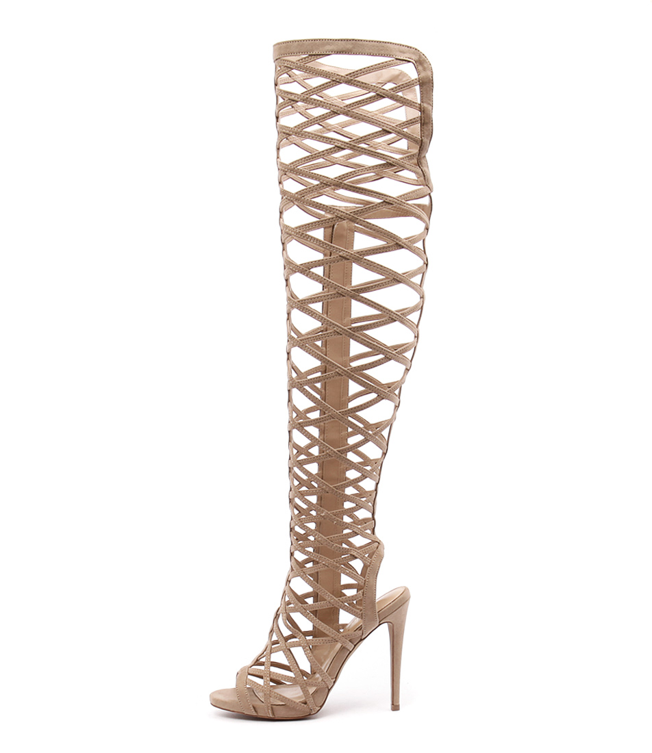 Wanted Geiger Nude Heeled Sandals