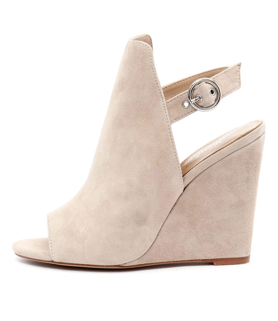 Wanted Teramo Nude Heeled Sandals