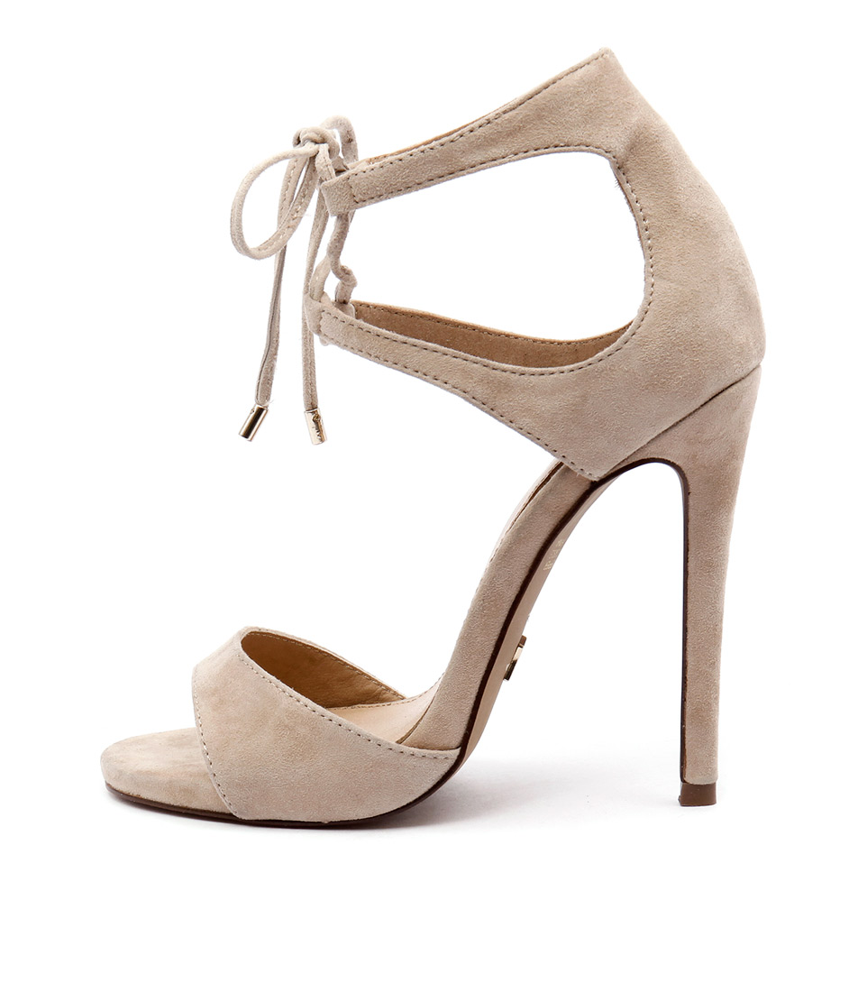 Wanted Pompano Nude Heeled Sandals
