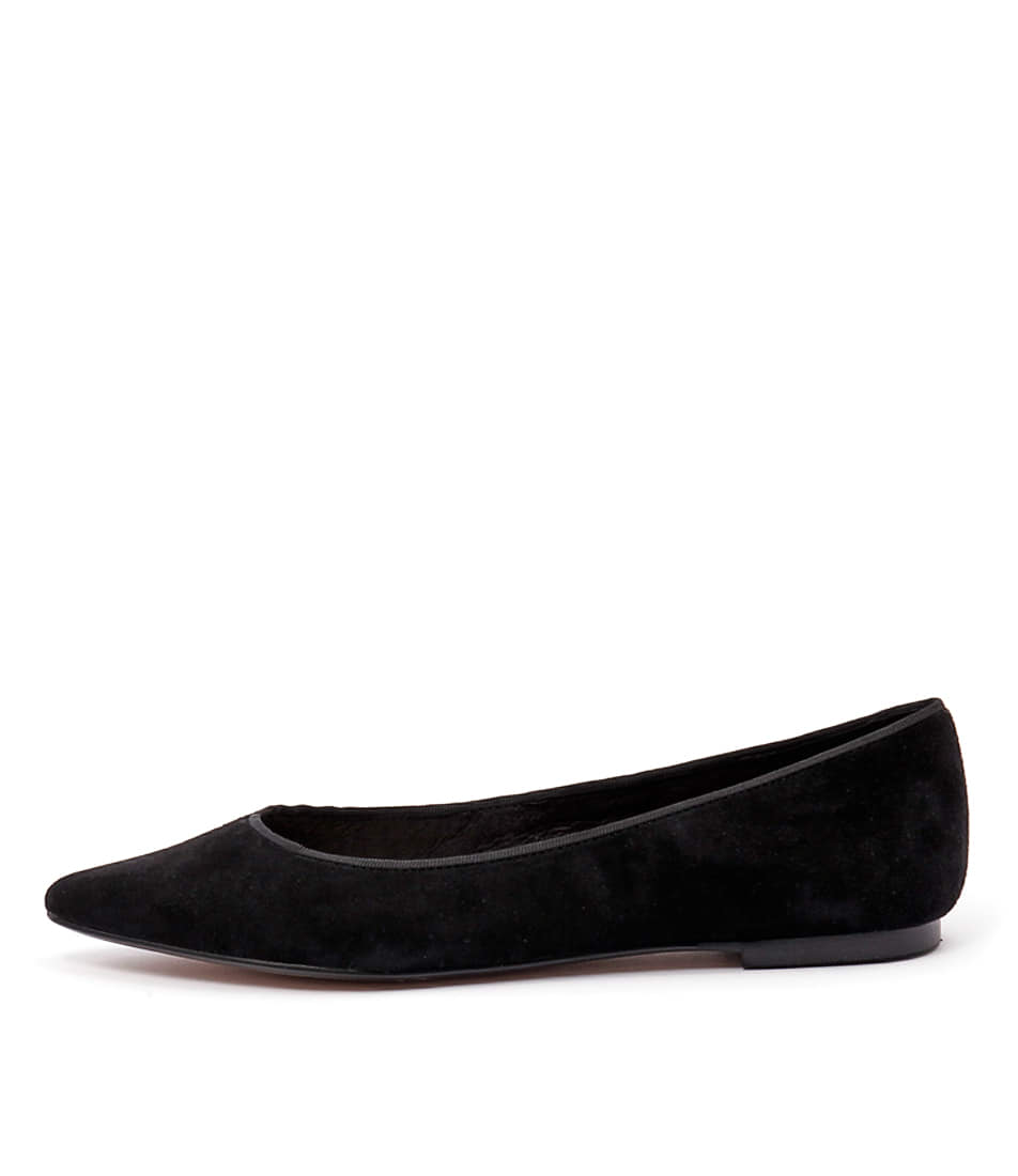Wanted Paris Black Flats