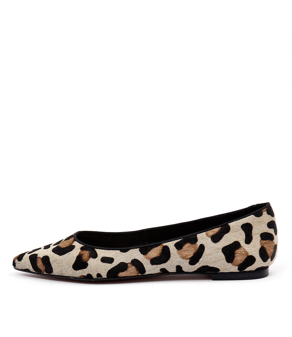 Wanted Paris Leopard Flat Shoes