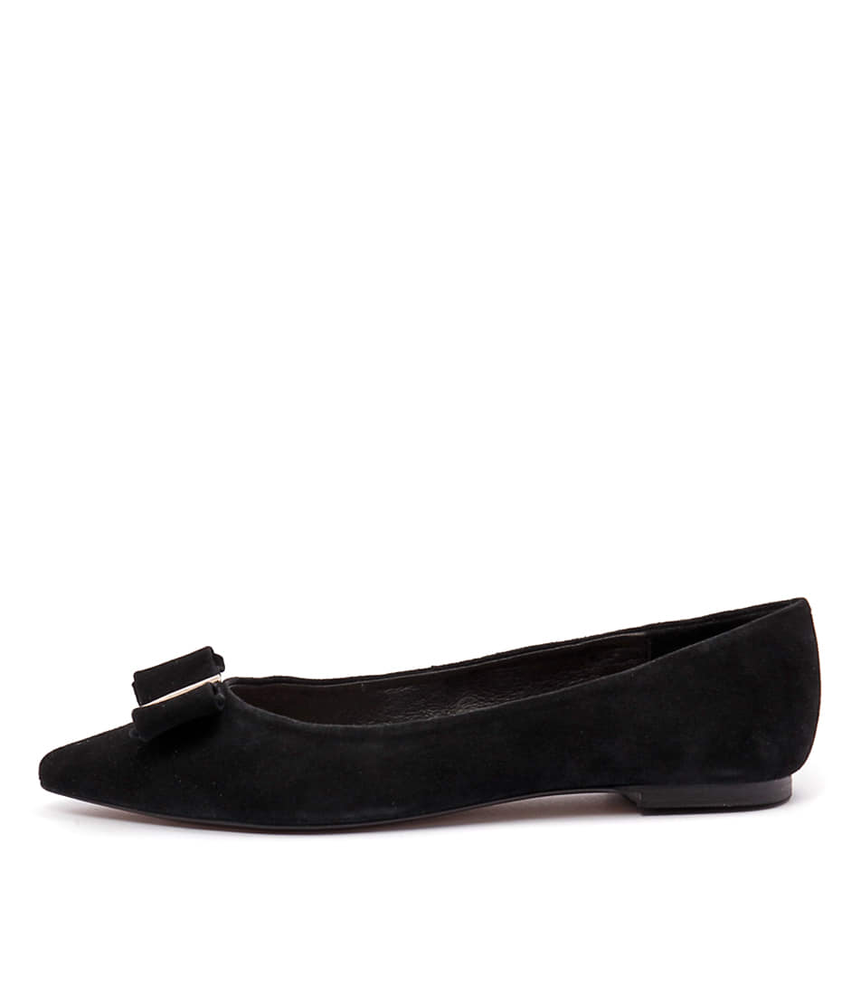 Wanted Pompeii Wn Black Flat Shoes