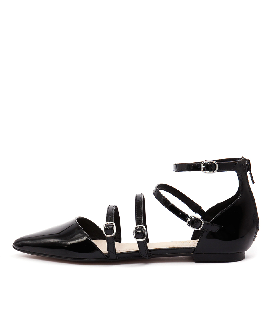 Wanted Portugal Black Flat Shoes
