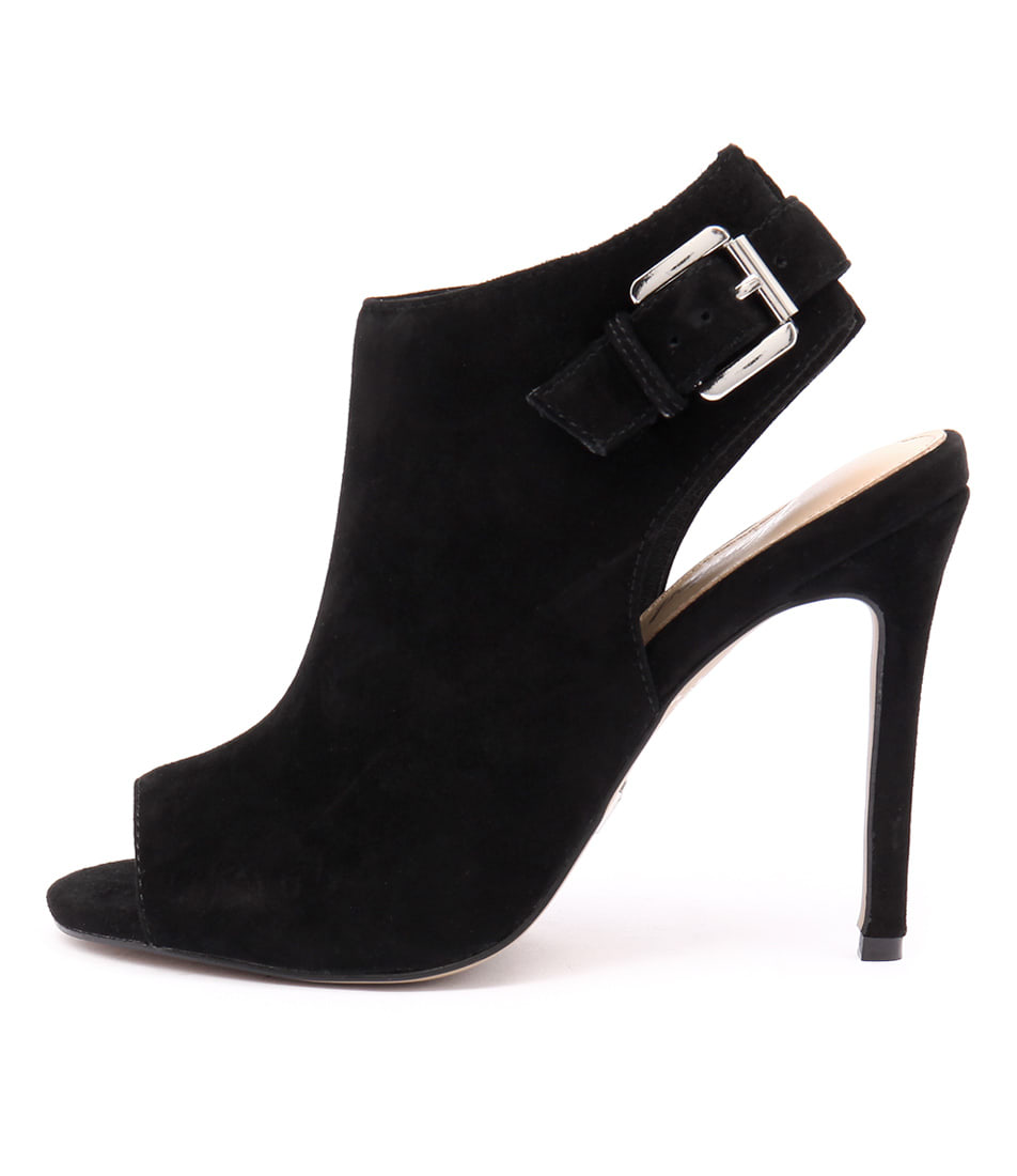 Wanted Diamond Wn Black Heeled Shoes