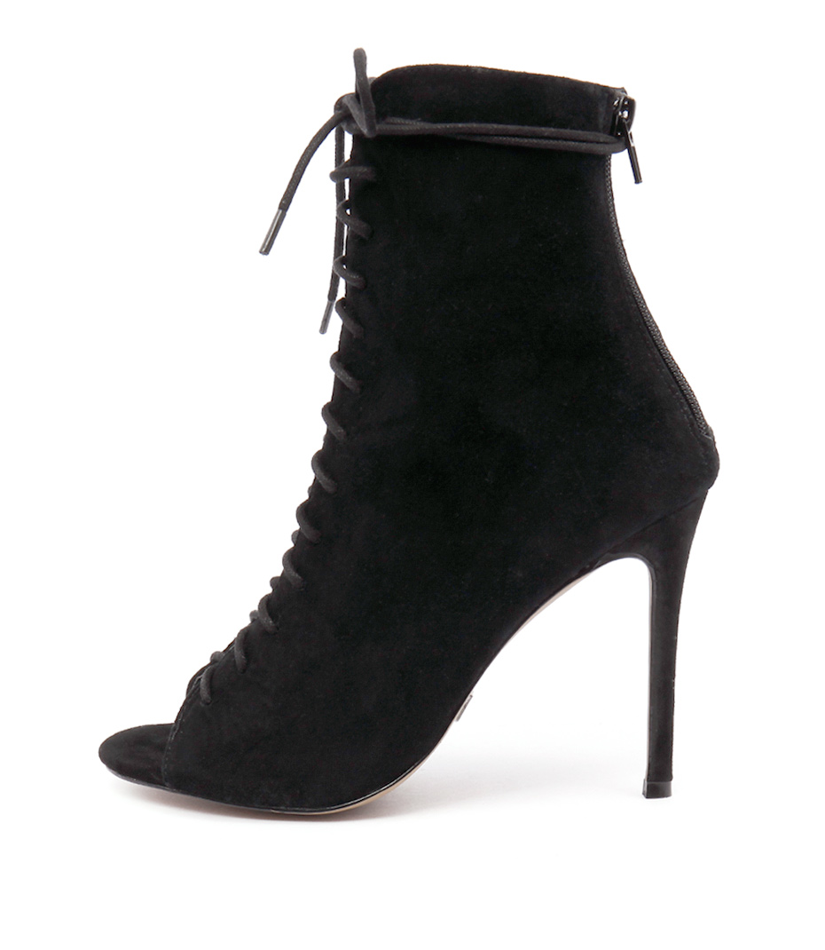Wanted Dolce Black Ankle Boots