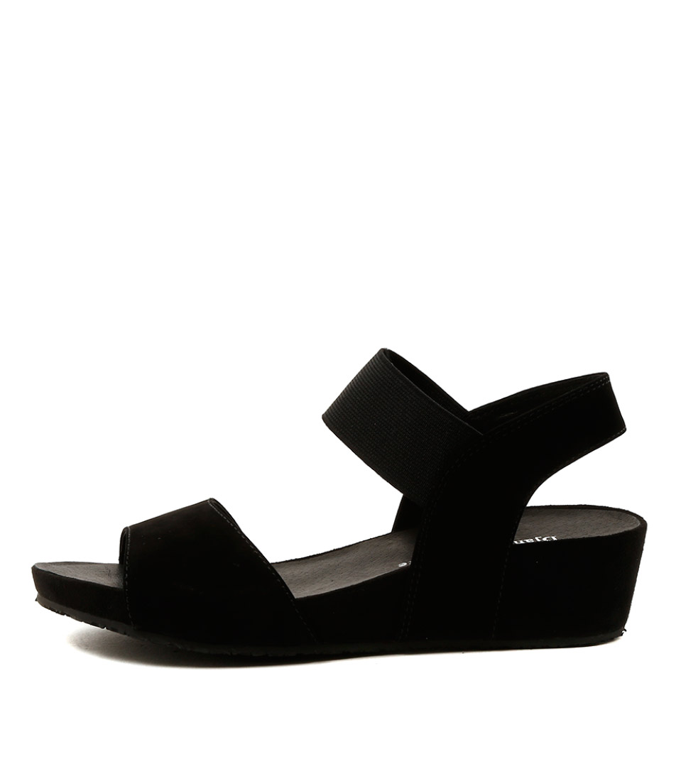 Django & Juliette Wendi Black Sandals