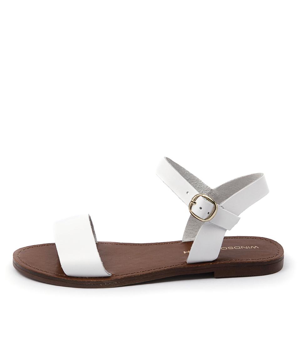Windsor Smith Bondi Ws White Casual Flat Sandals