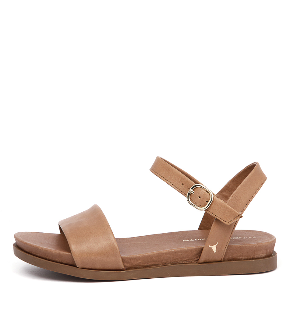 buy Windsor Smith Lucee Tan Sandals shop Windsor Smith Sandals online
