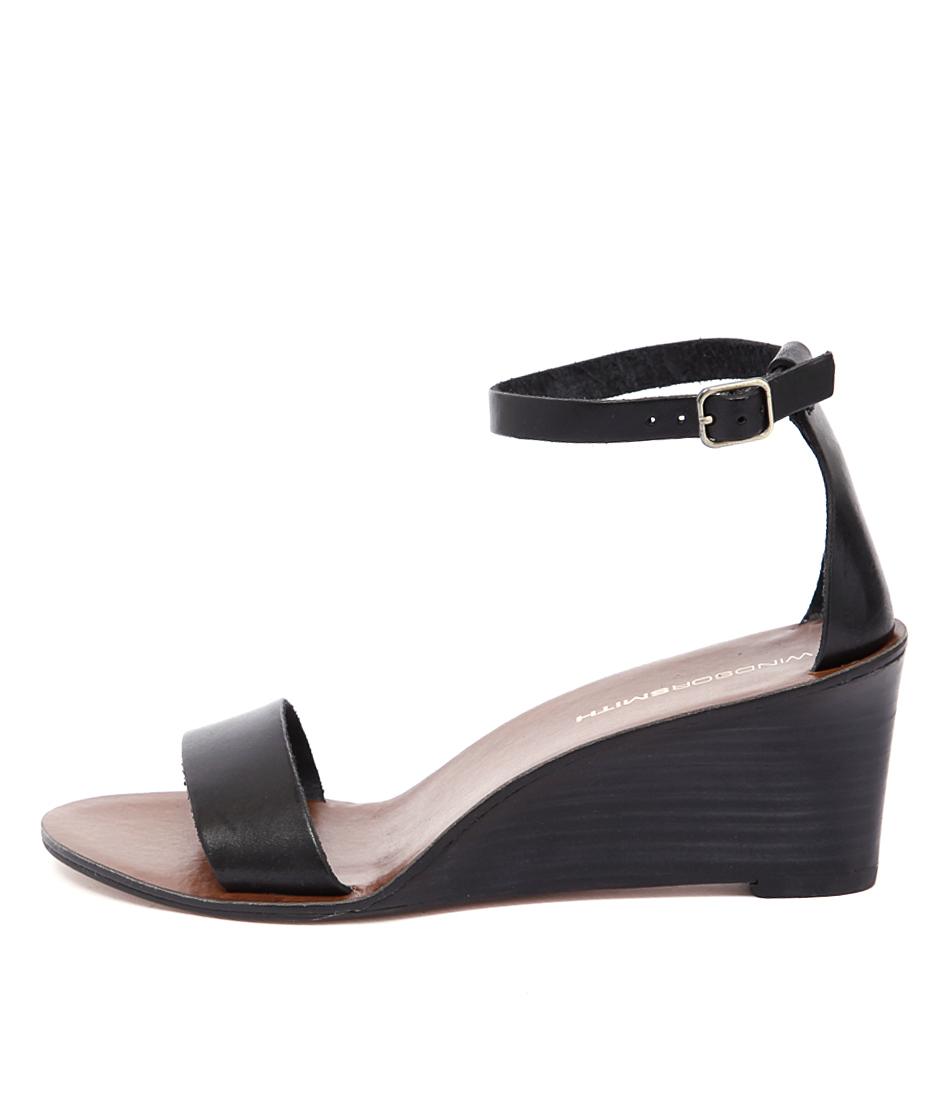 Windsor Smith Delta Ws Black Sandals
