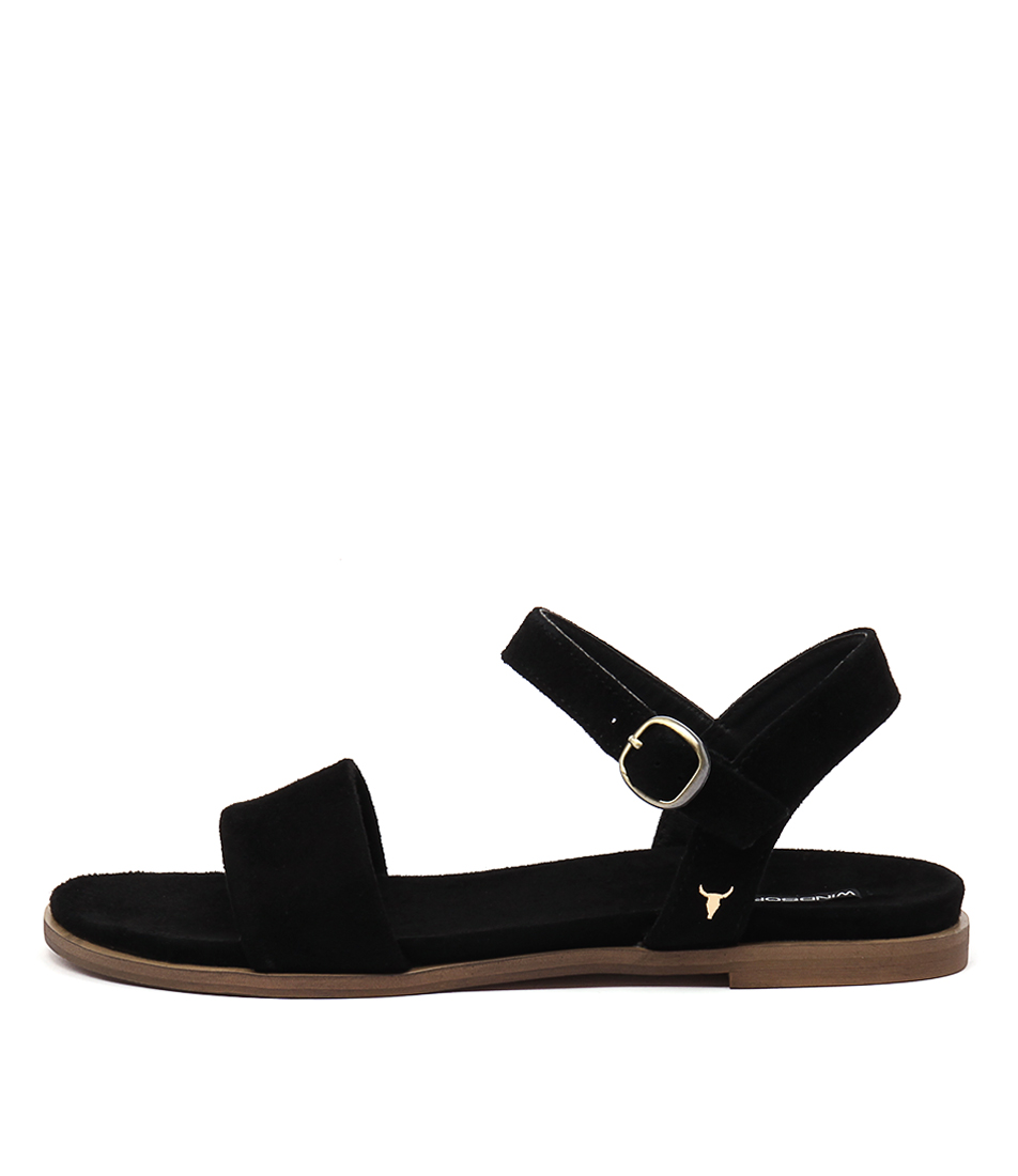 Windsor Smith Bae Ws Black Sandals