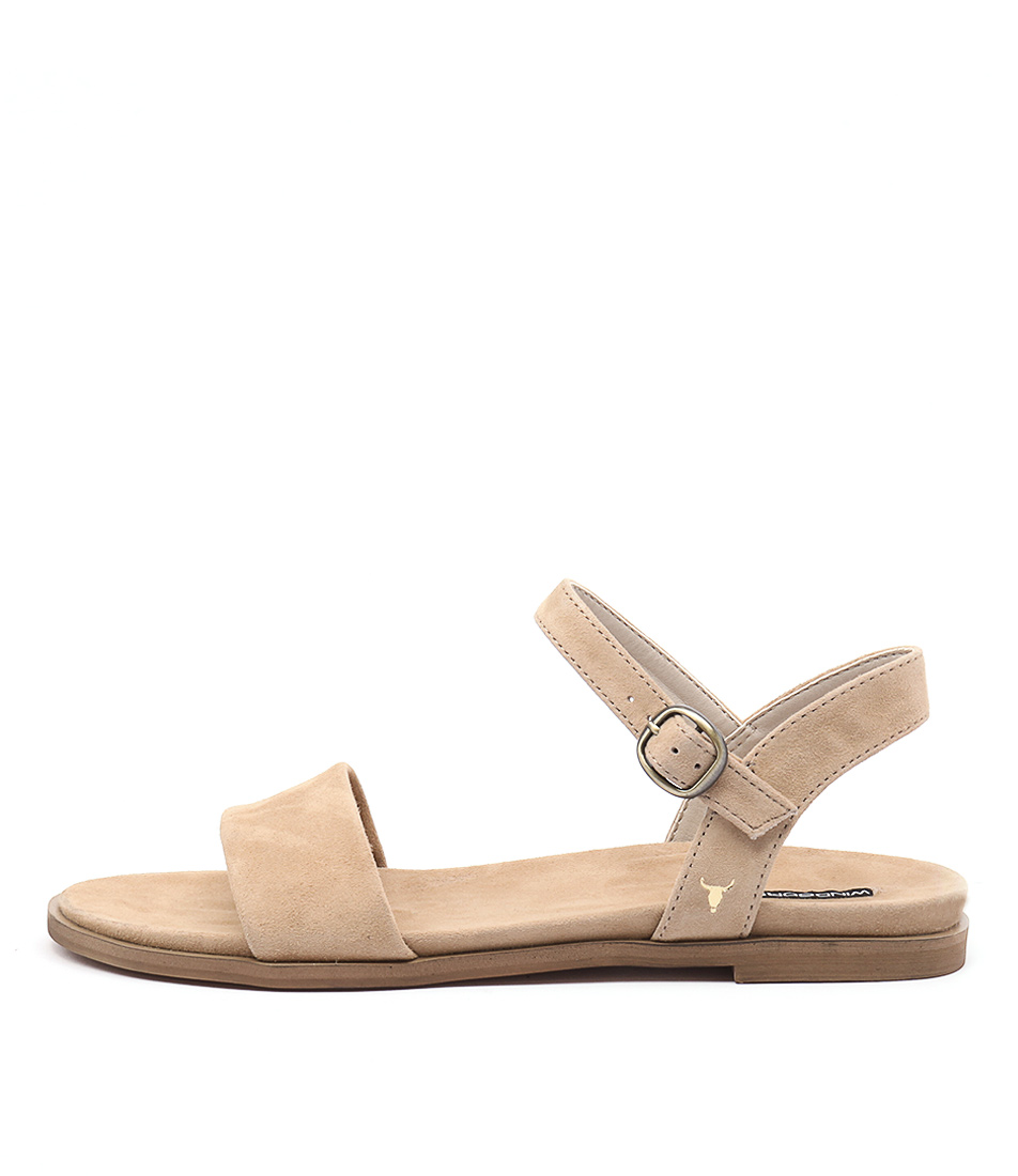 Windsor Smith Bae Ws Camel Casual Flat Sandals