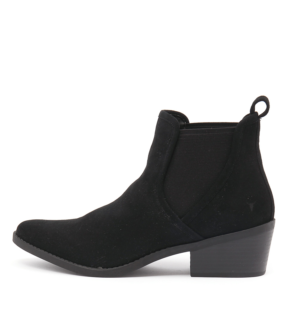 Windsor Smith Talor Black Casual Ankle Boots