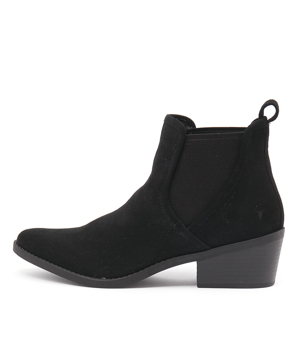Windsor Smith Talor Black Ankle Boots