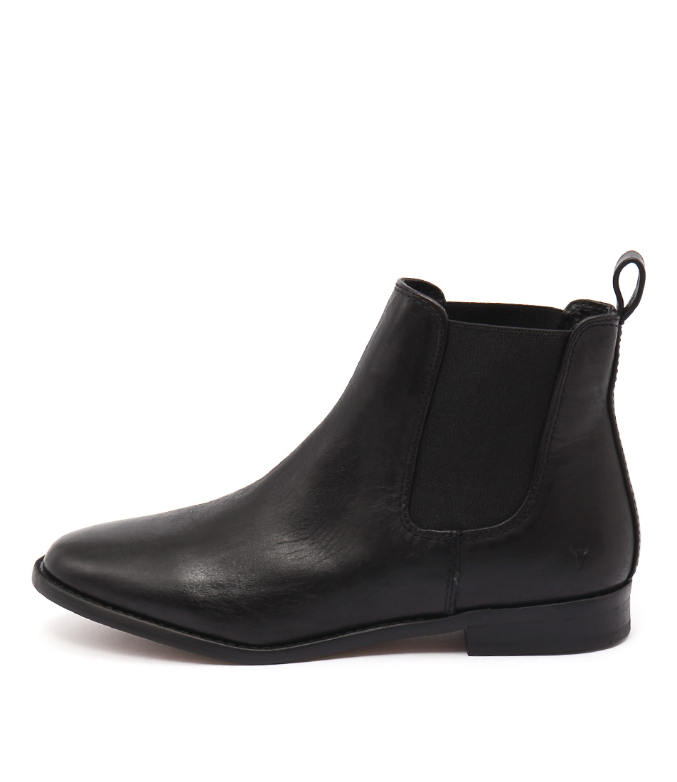 Windsor Smith Fent Black Ankle Boots