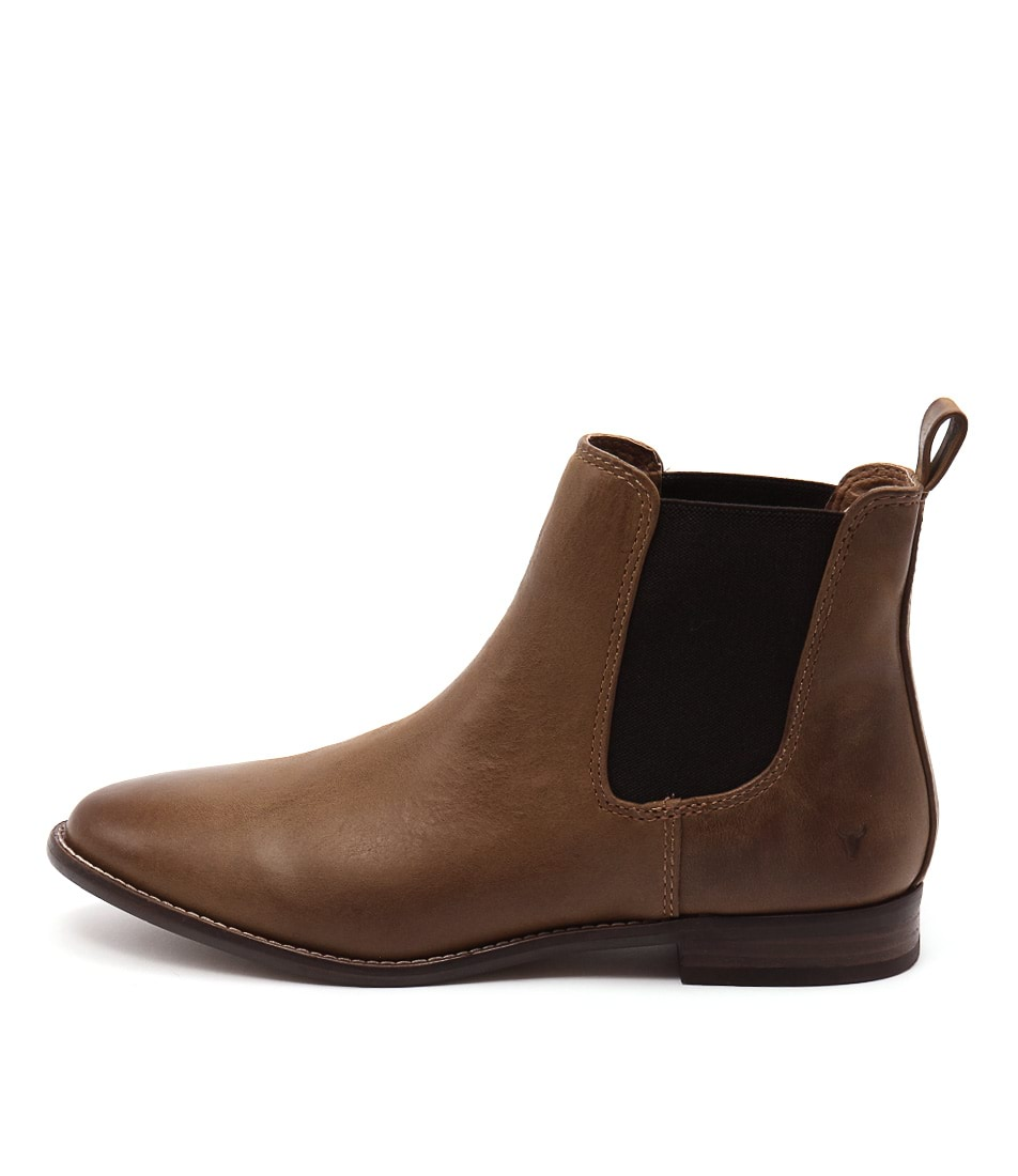 Windsor Smith Fent Tan Boots