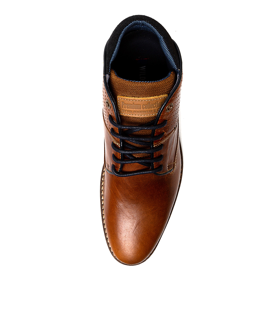 New-Wild-Rhino-Tanner-Mens-Shoes-Casual-Boots-Ankle thumbnail 5