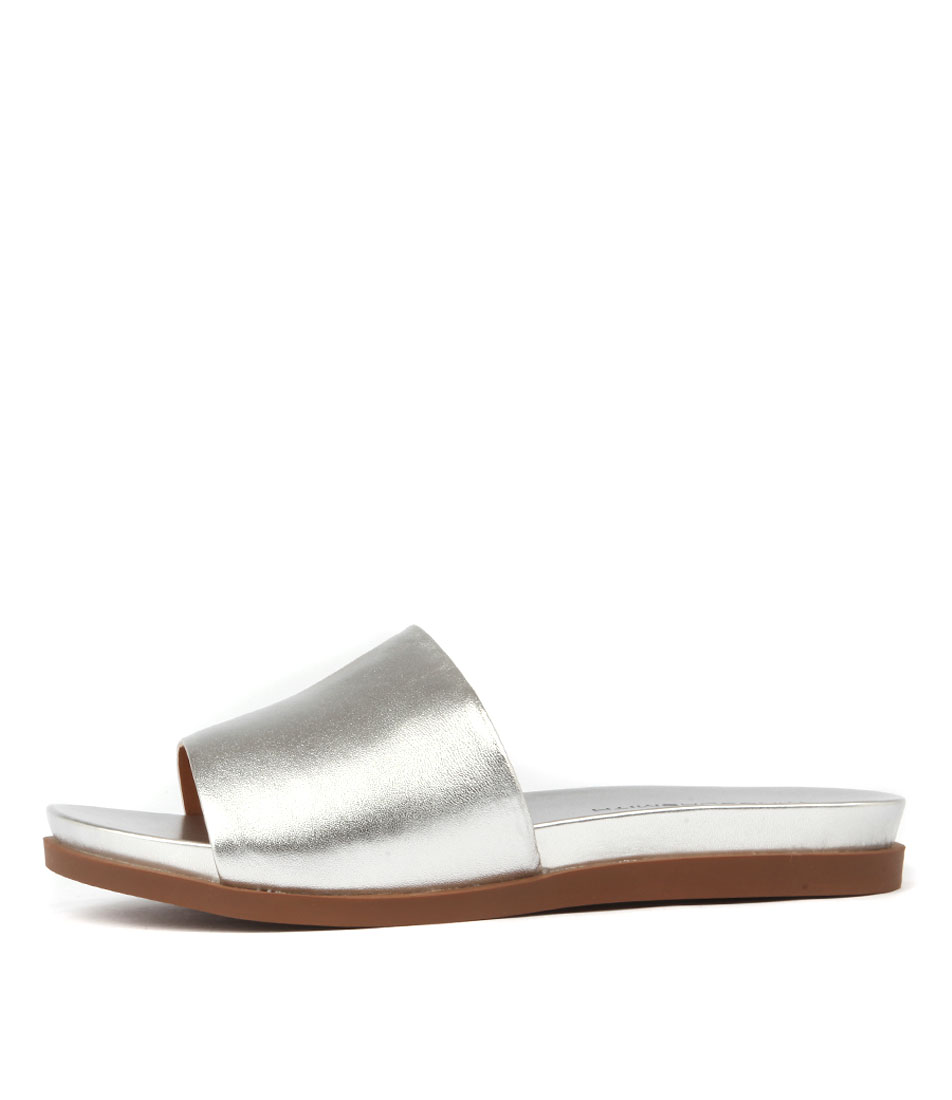 Windsor Smith Luella SilverFlat Sandals