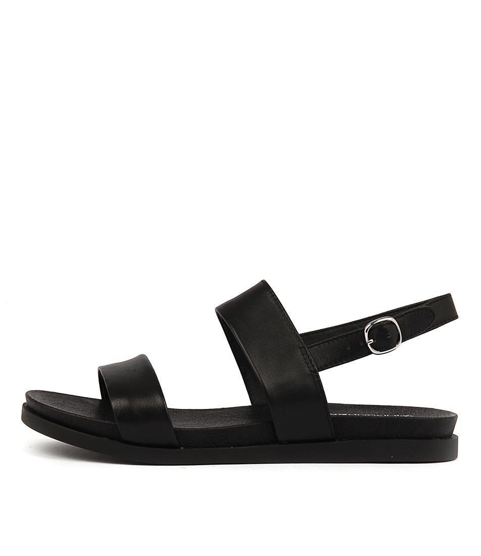 Windsor Smith Leni Black Sandals