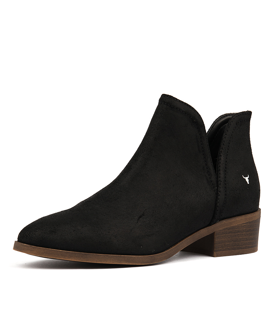Windsor Smith Razel Black Ankle Boots