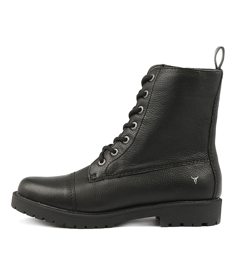 Windsor Smith Austen Ws Black Ankle Boots
