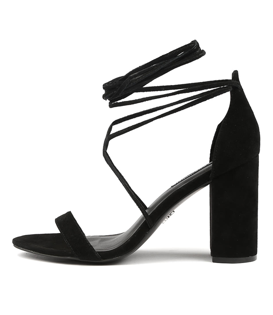 Buy Windsor Smith Idina Black Heeled Sandals online with free shipping