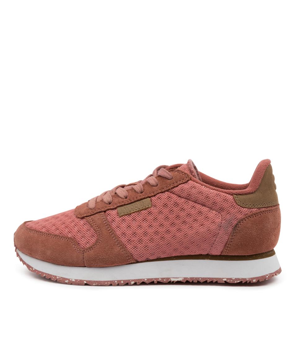 Buy Woden Ydun Suede Mesh Wu Canyon Rose Sneakers online with free shipping