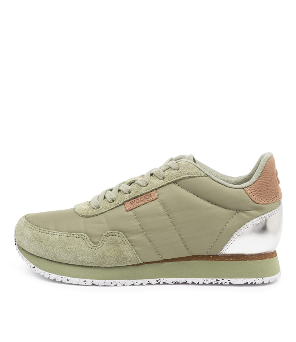 Buy Woden Nora2 Wu Dusty Olive Sneakers online with free shipping