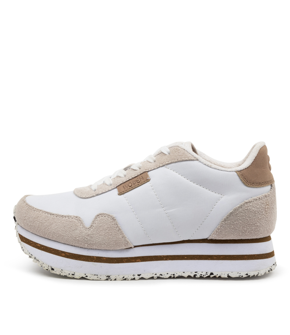 Buy Woden Nora2 Plateau Wu Bright White Sneakers online with free shipping