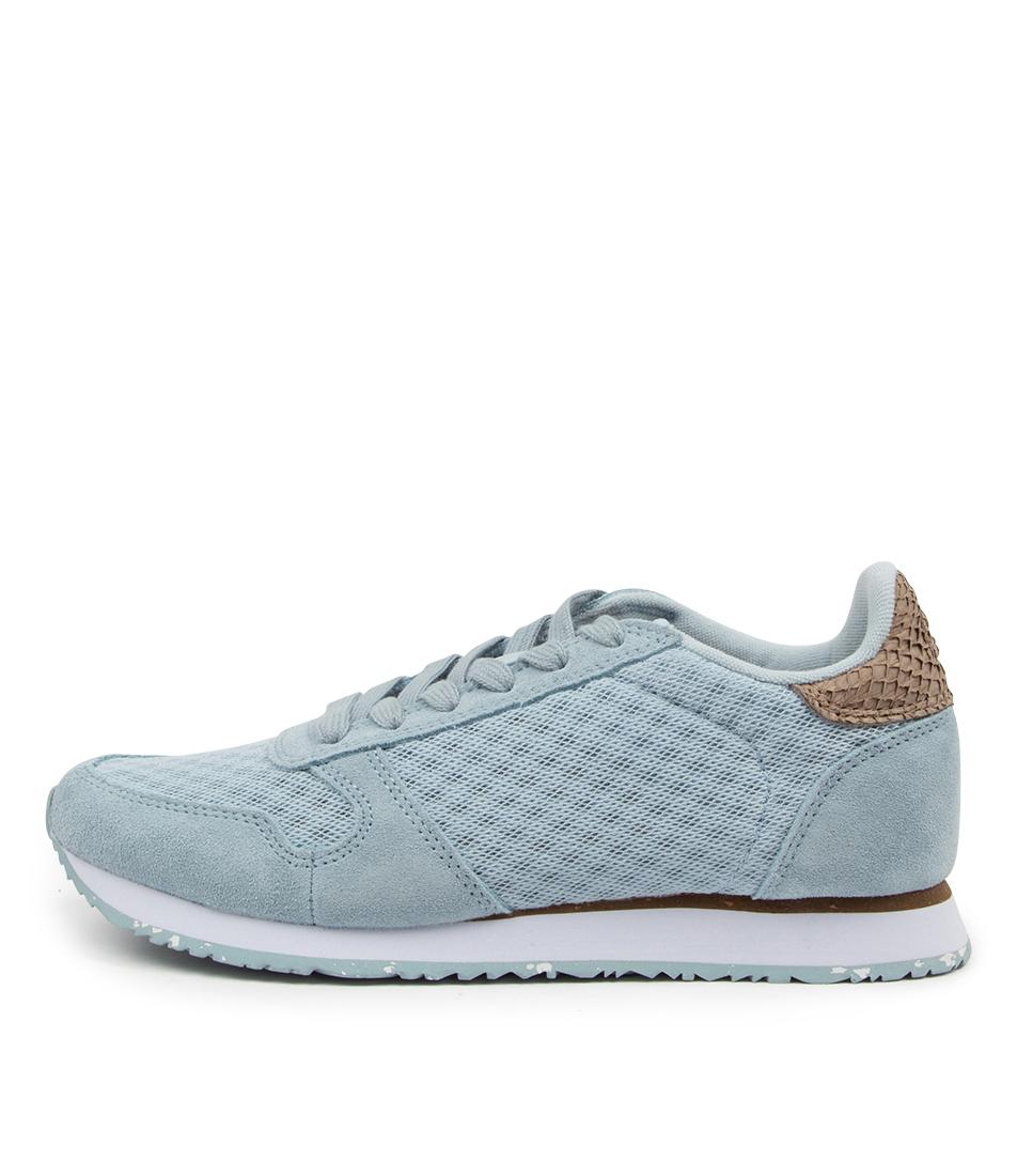 Buy Woden Ydun Suede Mesh Ii Wu Ice Blue Sneakers online with free shipping