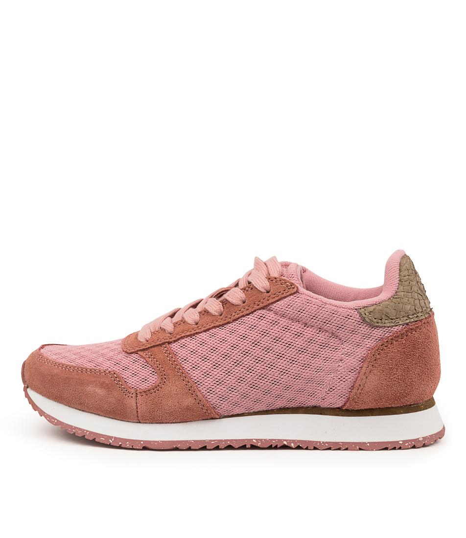 Buy Woden Ydun Suede Mesh Ii Wu Canyon Rose Soft Pink Sneakers online with free shipping